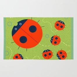 Ladybugs Rug