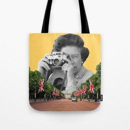 Her Majesty Queen Elizabeth II Tote Bag