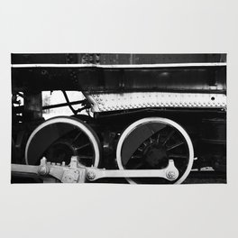 Train Wheels Rug