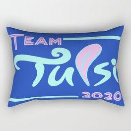 Team Tulsi Rectangular Pillow