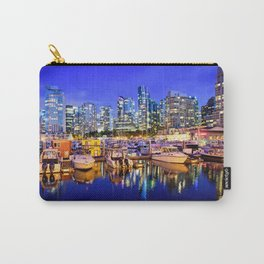 Vancouver Marina at Night Carry-All Pouch