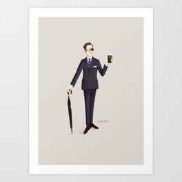 Agent Galahad Art Print