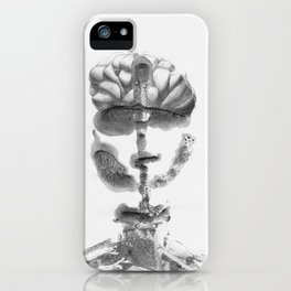 Portrait Monotype iPhone Case