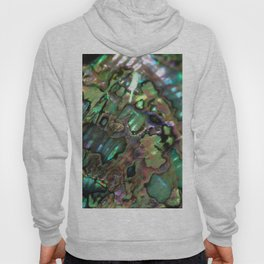 Oil Slick Abalone Mother Of Pearl Hoody