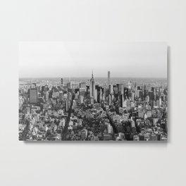Looking Uptown Metal Print