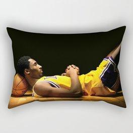 Ko be Bry ant Basketball Sport Rectangular Pillow