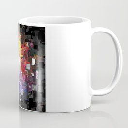 Spectral Geometric Abstract Coffee Mug