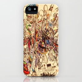 The Seven Head Dresses of Lucifer iPhone Case