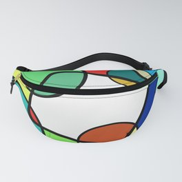 Shapes And Shades Fanny Pack