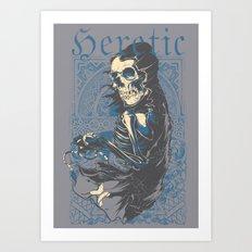 Heretic Death Art Print