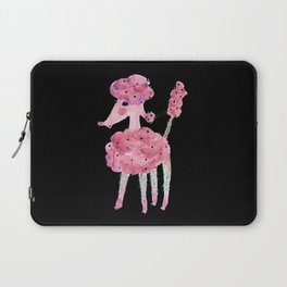 Poodle, watermelon fairy floss with green baubles Laptop Sleeve