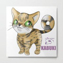Project Kitty: Kabuki Metal Print