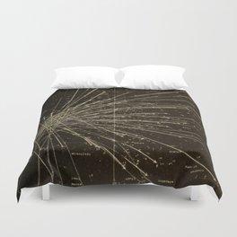 Meteor Shower Duvet Cover