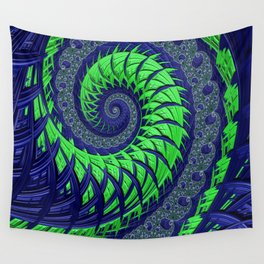 Seahawks Spiral Wall Tapestry
