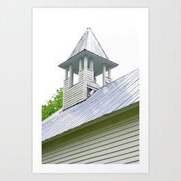 Methodist Steeple Art Print