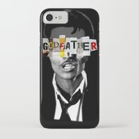 godfather iPhone & iPod Cases featuring Godfather Mix 1 black by Marko Köppe