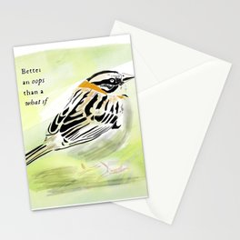 A little bird told me Stationery Cards