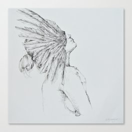 'Siren' Canvas Print