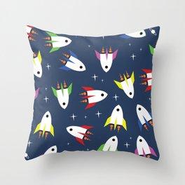 Rockets Throw Pillow