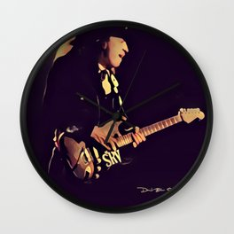 Stevie Ray Vaughan - Graphic 1 Wall Clock