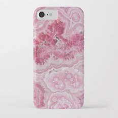 Rose Quartz Gem iPhone 7 Slim Case