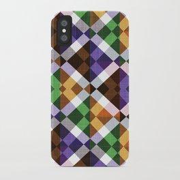 Retro Box Mosaic Small iPhone Case