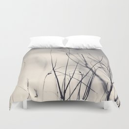 Sticks and Sky Duvet Cover