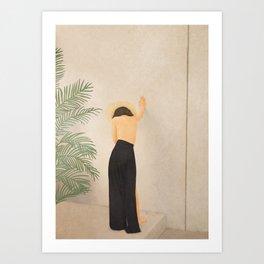 New Dress Art Print