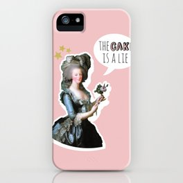 The Cake is a Lie iPhone Case