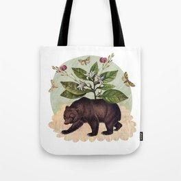 To Where Said the Bear Tote Bag