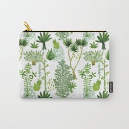 Green jungle pattern Carry-All Pouch
