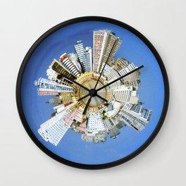 Planeta Cais Mauá Wall Clock