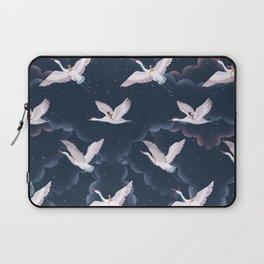 Crane Ladies Night Pattern Laptop Sleeve