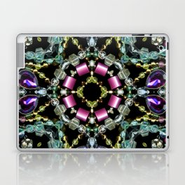 Bling Jewel Kaleidoscope Scanography Laptop & iPad Skin