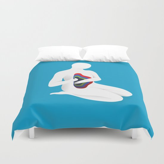 Soul searching Duvet Cover