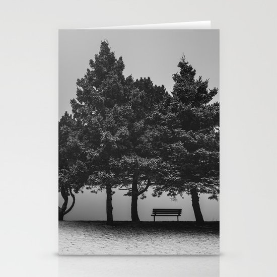 Shelter from the Storm Stationery Cards