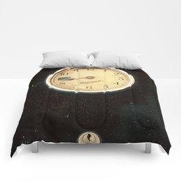 Retro Clock Comforters