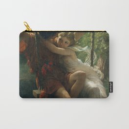 Springtime by Pierre-Auguste Cot 1873, French Carry-All Pouch