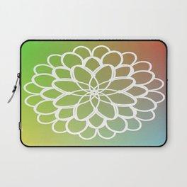 Mandala on a Rainbow Laptop Sleeve