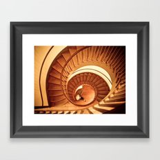 A Cornucopia of Stairs Framed Art Print