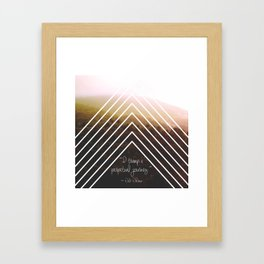 Perpetual Journey Framed Art Print