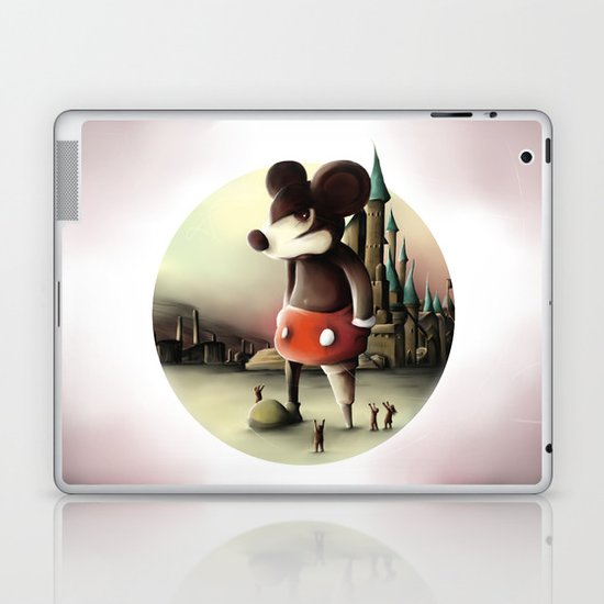 Mickey's Kingdom Laptop & iPad Skin