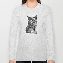 Tard the Grumpy Cat Long Sleeve T-shirt