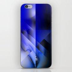 Blue Moon Crest iPhone & iPod Skin