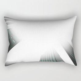 City Buildings - Dallas USA Rectangular Pillow