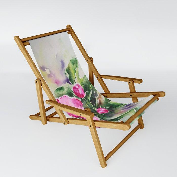 Cherry Blossom Sling Chair