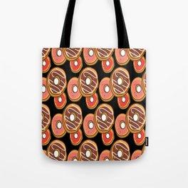 Free Doughnut Pattern Vector Tote Bag