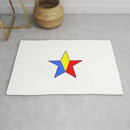 Flag of romania 6 -romania,romanian,balkan,bucharest,danube,romani,romana,bucuresti Rug