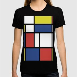 Mondrian 3 #art #mondrian T-shirt