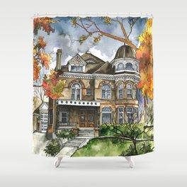 Victorian Autumn Shower Curtain